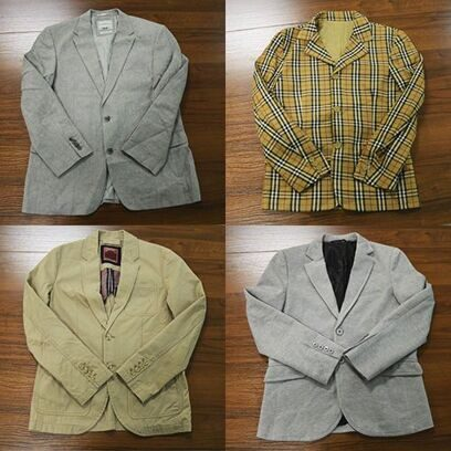 4433 MAN JACKET SUMMER CREAM, Пиджаки Муж. Лето (Италия)